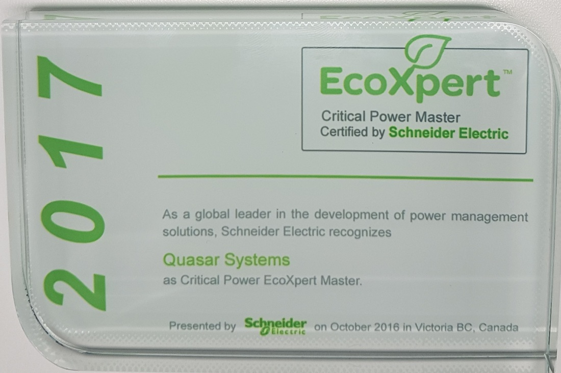 Quasar, an EcoXpert Critical Power Master