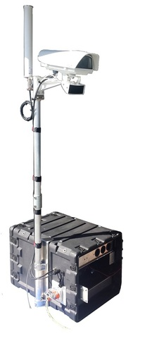 Quasar Mobile Video Surveillance Unit